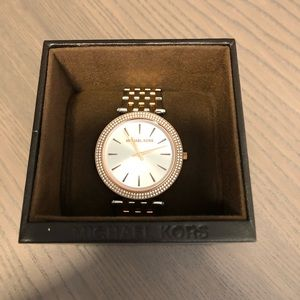 Michael Kors Women's Darci Tri-Tone Watch (MK3203)